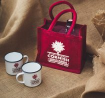Corrnish Orchards Jute Bag