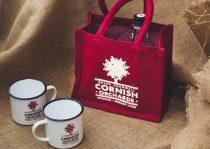 Corrnish Orchards Jute Bag