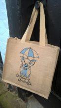 Delilahs Umbrella Jute Bag